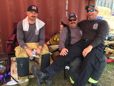 Orlando Fire Conference Instructors using Responder Wipes